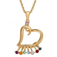 grandmother birthstone necklace birthstone necklace 15 necklaces grandmother will