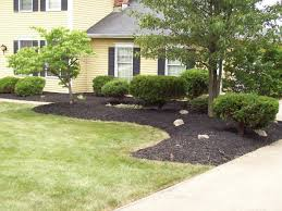 Front Yard Landscape Designs by Front Yard Landscape Mulch Bid Example Pictures Of Landscape
