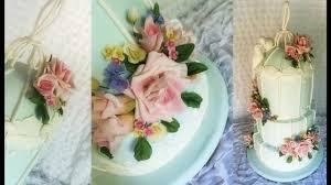 wedding cake flowers self taught caker gumpaste wedding cake flowers