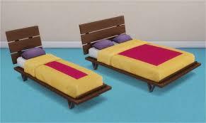 veranka futon bed frames and mattresses sims 4 pinterest