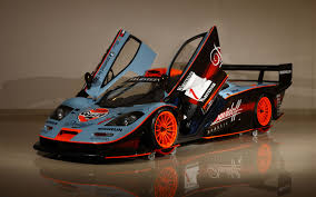 gulf racing logo gulf team davidoff mclaren f1 gtr race car hitting auction block