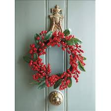 how to make christmas how to make a christmas wreath christmas craft housekeeping
