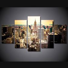 new york city home decor 2017 fashion hd printed new york city canvas painting children u0027s