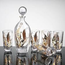 barware sets new brand barware bar set violet crystal glass bottles of high