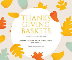 thanksgiving baskets because matter