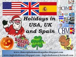 holidays in usa uk and spain