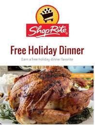 shoprite free turkey or ham promo starts 10 15