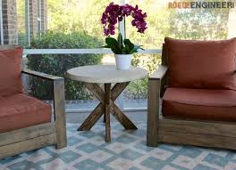 Build Cheap Outdoor Table by Diy Outdoor Furniture 10 Easy Projects Bob Vila