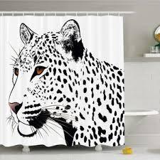 White Tiger Shower Curtain Ambesonne Shower Curtains You U0027ll Love Wayfair