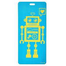 amazon com merrithew kids yoga and exercise mat pixel the robot