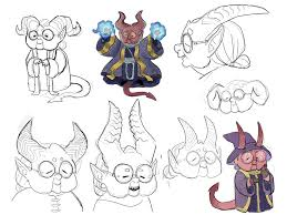 Grandma In Rocking Chair Clipart Oc Concepts For My Tiefling Wizard Ragnamahr She Likes To Be