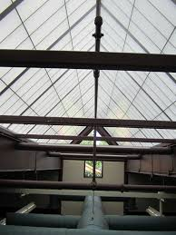 Skylight Design by Architecture Beautiful Red Pyramid Roof By Kalwall Skylight For