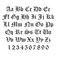 tattoo fonts tattoo calligraphy script font