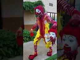killer clown costume ronald mcdonald killer clown costume