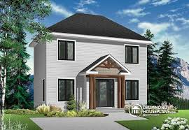 Transitional Style House House Plan W2719 Detail From Drummondhouseplans Com