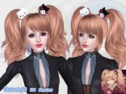 hair color to download for sims 3 skysims hair adult 199