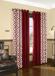 Curtains To Keep Heat Out Insulated Trellis Print Grommet Top Curtain Panel