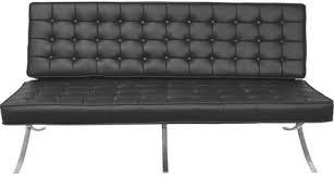 Leather Upholstery Sofa Regency 7103bk Model 7103 Princeton Barcelona Tuffed Leather Sofa