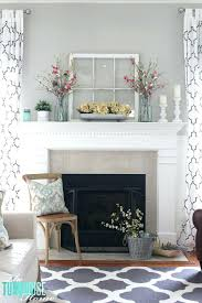 Christmas Decorations For Fireplace Mantel Fireplace Mantel Decor Decoration Ideas Mantels Decorating Candles