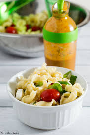 Main Dish Vegetables - garden pasta salad recipe by the redhead baker
