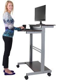 ergonomic desk stand up