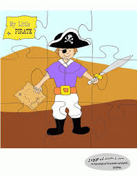 printable paper puzzles my little pirate puzzle ziggity zoom