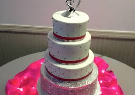 Red And Silver Wedding Wedding Cakes Cakes So Simple
