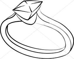 diamond ring coloring pages christian wedding clipart christian wedding images sharefaith