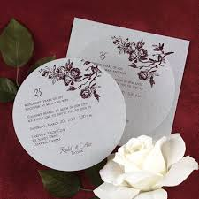 amusing silver wedding anniversary invitation cards 67 on