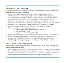 Sales And Marketing Manager Resume Examples by Sales Resume U2013 9 Free Samples Examples Format