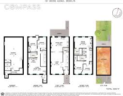 Five Bedroom Floor Plan After Elegant Revamp 118 Year Old Bed Stuy Townhouse Wants 1 8m