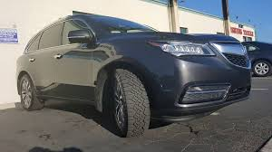 Goodyear Wrangler Off Road Tires 2014 Acura Mdx Sh Awd With Goodyear Wrangler Duratrac 255 55 R19