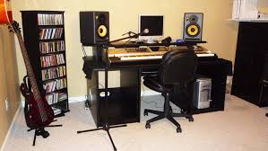 Recording Studio Desk Design by Salukitecture Spring Furniture Studio