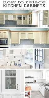 refacing kitchen cabinet doors ideas how to add glass to cabinet doors confessions of a serial do it