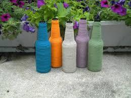 Diy Plastic Bottle Vase Diy Cute Recycled Glass Bottle Vases Tutorial K4 Craft