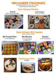 Halloween Mini Cakes by Halloween Ida U0027s Cupcake Cafe