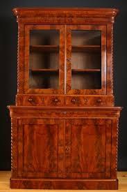 Mahogany Bookcases Uk Fine Victorian Bookcase In Mahogany Display Cabinet China
