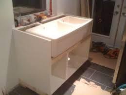 Farmhouse Sink Into Ikea Kitchen Cupboards IKEA Hackers IKEA - Apron kitchen sink ikea