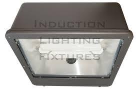 fsws200 200 watt induction shoe parking lot light fixture wide
