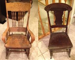 Oak Rocking Chairs Inspiring Antique Rocking Chair Value And Delighful Vintage Wooden