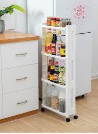 kitchen storage cupboard on wheels kitchen shelf storage rack bathroom organizer gap shelves