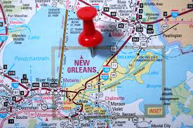 Map Of New Orleans La by Safety Consultant In New Orleans La Safety Consultant