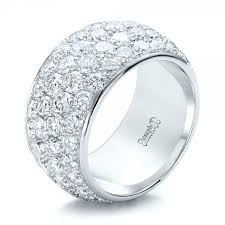diamond wedding rings custom pave diamond wedding ring 100875