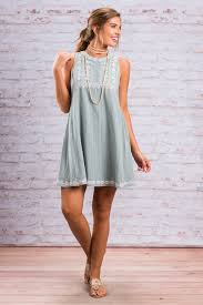 easy perfection dress light blue the mint julep boutique