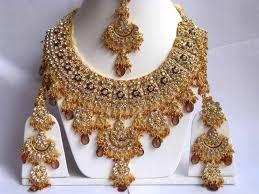 bridal set necklace earring images Indian wedding jewelry set bollywood glamour pinterest jpg