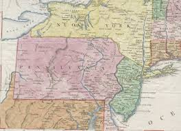 Pennsylvania County Maps by 1820 U0027s Pennsylvania Maps