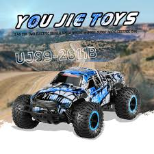 bigfoot remote control monster truck us original you jie toys uj99 2611b 1 18 2 4g 2ch 2wd electric
