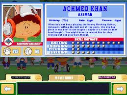 Amir Khan Backyard Sports Backyard Baseball 2003 Game Giant Bomb