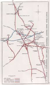England Train Map by Wigan Central Railway Station Wikipedia