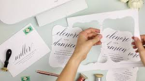 how to print your own wedding invitations how to print your own wedding invitations at home with everly card
